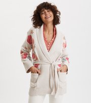 Odd Molly  - Enticing Embroidered Cardigan - CHALK