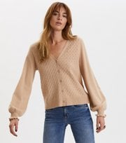 Odd Molly - Trustworthy V--Neck Cardigan - SUNRISE POWDER