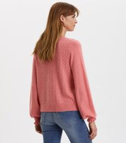 Odd Molly - Trustworthy V--Neck Cardigan - CORAL PINK