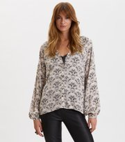 Odd Molly - Sensational Blouse - PEBBLE GREY