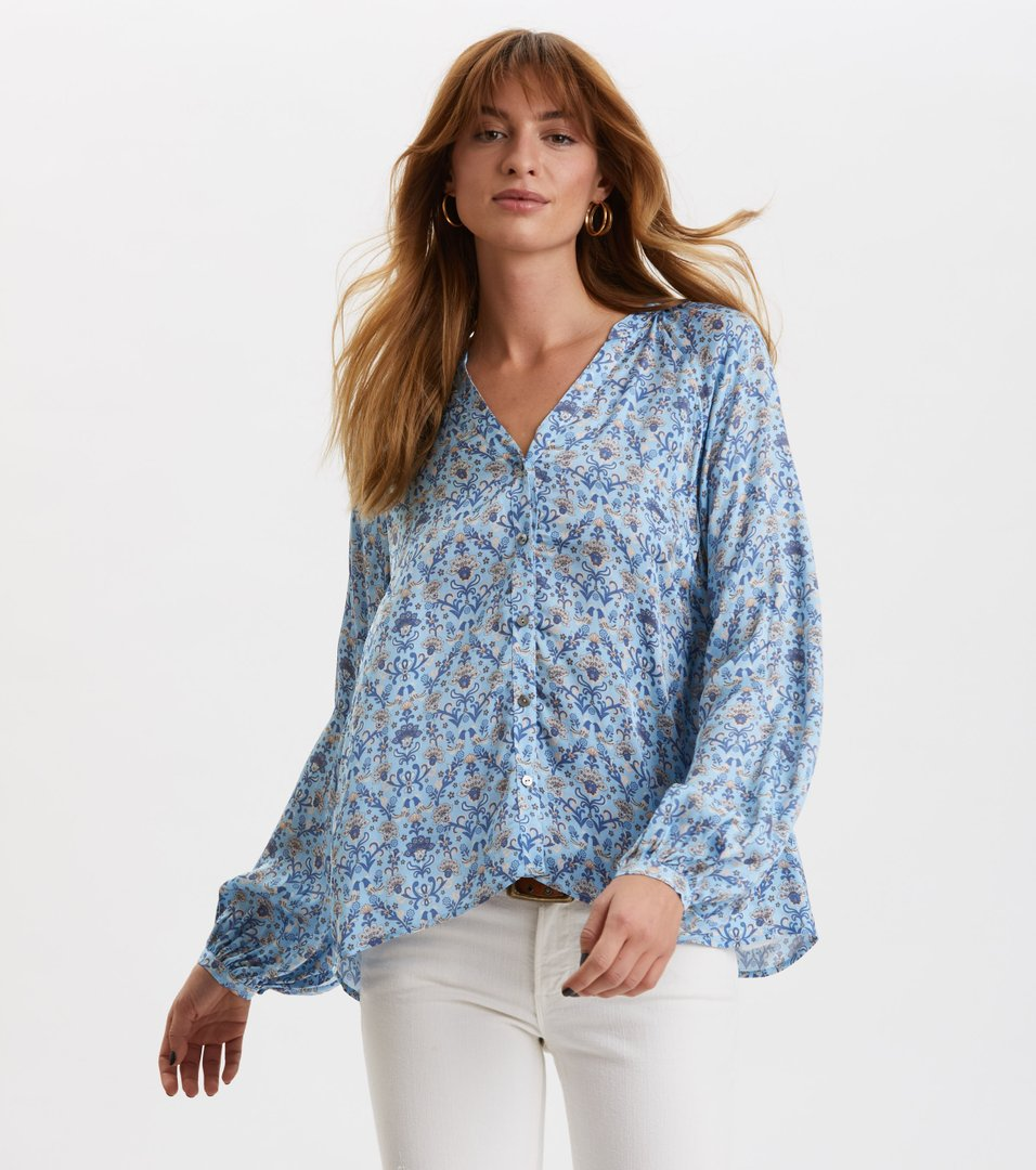 odd molly grassland blouse