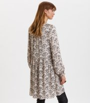 Odd Molly  - Sensational Short Dress - PEBBLE GREY