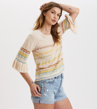Knockout Frill Top