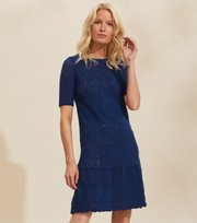 Odd Molly  - Caring Dress - STORMY BLUE