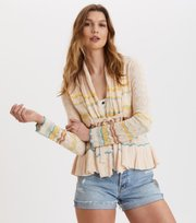 Odd Molly - Can-Can Cardigan - PORCELAIN