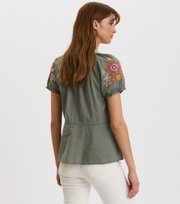 Odd Molly - Loving Top - CARGO GREEN