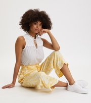 Odd Molly - Pretty Printed Pants - VINTAGE YELLOW