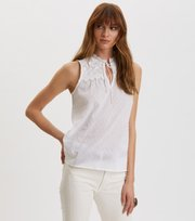 Odd Molly - Finest Embroidery Bluse - BRIGHT WHITE