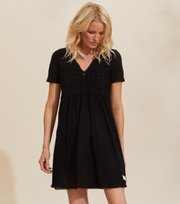 Odd Molly - Finest Embroidery Dress - ALMOST BLACK