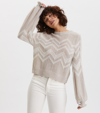 Magnetic Striped Sweater