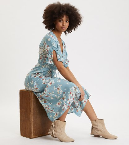 Odd Molly Adore Dress Vintage Turquoise Klänningar