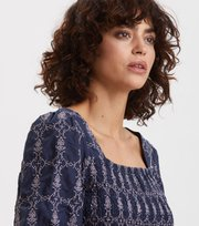 Odd Molly - Powerful Cotton Top - DK BLUE