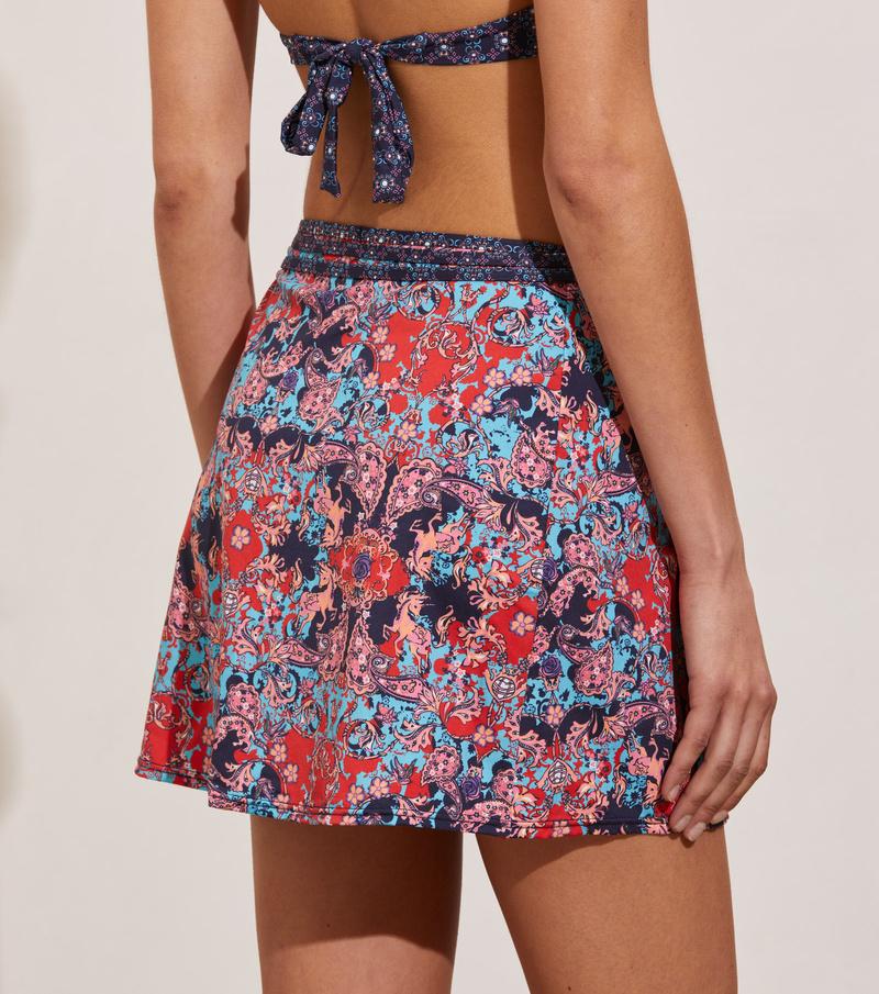Artsy Swim Skirt