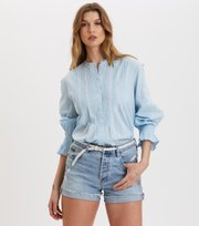 Odd Molly - All Is Love Embroidered Blouse - LUCKY BLUE