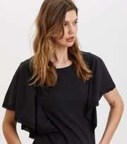 Odd Molly - Flowy Top - ALMOST BLACK