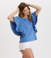 Odd Molly - Flowy Top - VIVID BLUE