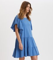 Odd Molly - Flowy Dress - VIVID BLUE