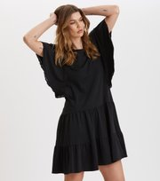Odd Molly - Flowy Dress - ALMOST BLACK