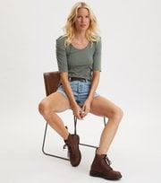 Odd Molly - Feeling Fine Top - CARGO GREEN