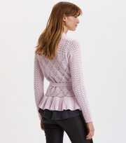 Odd Molly - Every Hour Frill Cardigan - PURPLE DREAM