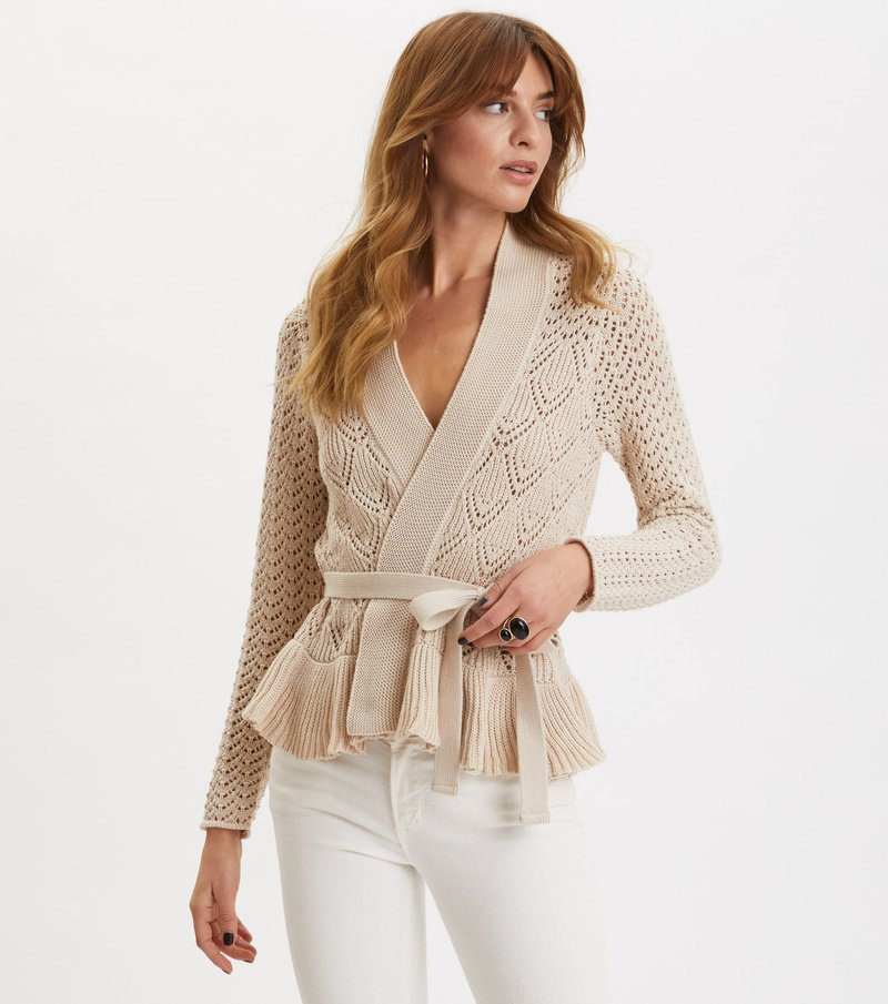Every Hour Frill Cardigan