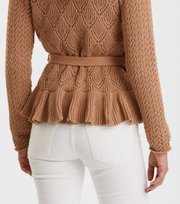 Odd Molly - Every Hour Frill Cardigan - ONION