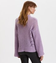 Odd Molly - Comfort Oversized Sweater - PRETTY PURPLE