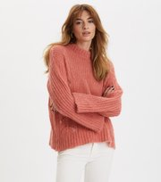 Odd Molly - Comfort Oversized Sweater - SPICY RED