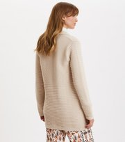 Odd Molly - Meaningful Long Cardigan - PORCELAIN