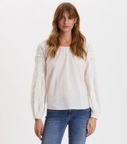 Odd Molly - Popular Blouse - LIGHT CHALK