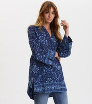 Odd Molly - Ravishing Tunic - NIGHT SKY BLUE