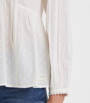 Odd Molly - Populär blus med smock - LIGHT CHALK