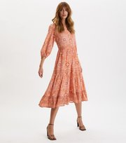 Odd Molly - Ravishing Dress - SUNSET PEACH