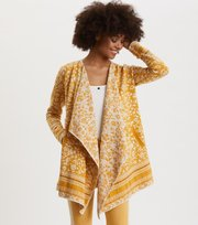 Odd Molly - Expressive Long Cardigan - VINTAGE YELLOW