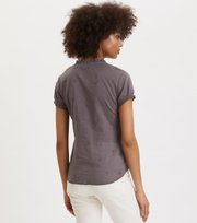 Odd Molly - On Point Blouse - GREY