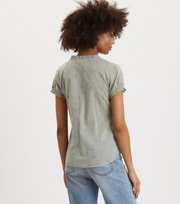 Odd Molly - On Point Blouse - WASHED CARGO