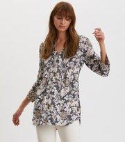 Odd Molly - Pretty Printed Short Dress - ASPHALT