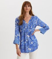 Odd Molly - Pretty Printed Short Dress - VIVID BLUE