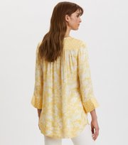Odd Molly - Pretty Printed Short Dress - VINTAGE YELLOW