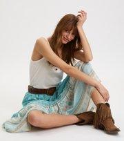 Odd Molly - Bohemic Skirt - MOROCCAN TURQUOISE