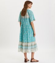 Odd Molly - Bohemic Dress - MOROCCAN TURQUOISE