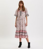 Odd Molly - Bohemic Dress - PINK ELDER