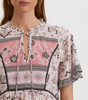 Odd Molly - Bohemic S/L Blouse - PINK ELDER