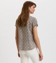 Odd Molly - Perfect Print Blouse - ASPHALT