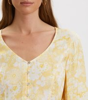 Odd Molly - Pretty Printed Blouse - VINTAGE YELLOW