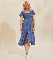 Odd Molly - Perfect Print Dress - VIVID BLUE