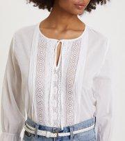 Odd Molly - So Neat Blouse - BRIGHT WHITE