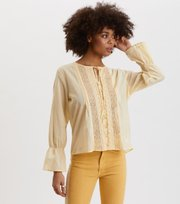 Odd Molly - So Neat Blouse - YELLOW BREEZE