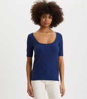 Odd Molly - Exquisite Top - STORMY BLUE