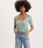Odd Molly  - Exquisite Top - WASHED CARGO